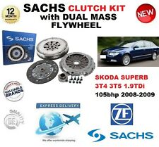 FOR SKODA SUPERB CLUTCH KIT 1.9 TDi 105bhp 3T4 3T5 2008-2009 SACHS with FLYWHEEL