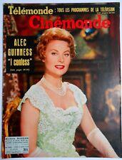 ►CINE MONDE 1243/1958-MICHELE MORGAN-JOAN COLLINS-ALEC GUINESS-MAURICE RONET...