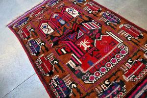 Super High Quality Soviet Carpet,Afghanistan War Tank Top Handmade Natural Dye