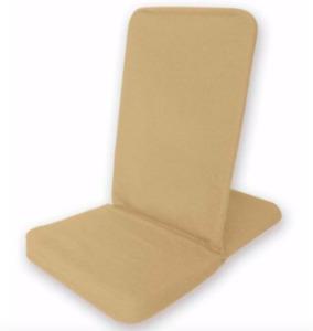 BackJack Floor Chair, standard size sand colored
