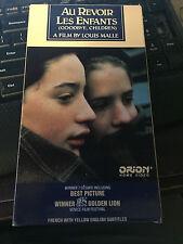 Au Revoir Les Enfants [Goodbye, Children] [VHS] shipping included!