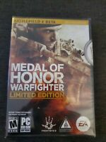 Medal Of Honor WARFIGHTER Limited Edition PC Game NEW & FACTORY SEALED w/DVD