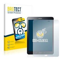 2x Displayschutz Folie Klar Samsung Galaxy Tab S2 9.7 Schutzfolie Displayfolie