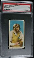 1909-11 T206 - Red Kleinow - Sweet Caporal - PSA 3 - VG