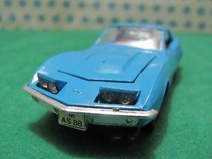 Rare Vintage - Marklin 1818 - Chevrolet Corvette 2800 Cs - mint Box