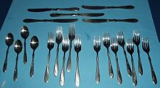 Rogers Stainless Flatware 21 Pieces Forks Spoons & Knifes Korea Tableware