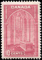 1938 Mint H Canada F-VF 10c Scott #241 Pictorial Issue Stamp