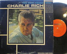"""Charlie Rich - The Best Years  (Smash MGS 27078)  (Mono) (with """"Hawg Jaw"""")"""