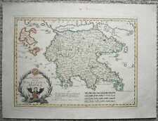 1791 Reilly map PELOPONNESE, GREECE