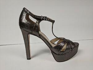 Jessica Simpson Bryanne Titanium Heels Womens 8