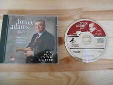 CD Jazz Bruce Adams Quartet - One Foot i/t Gutter (12 Song) BIG BEAR CASTLE