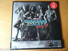 GUARDIANS OF THE GALAXY Vol. 2 Big Sleeve DVD, Blu-Ray & Vinyl LP LTD EDITION