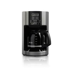12 Cup Drip Coffee Maker Programmable Brew Restaurant Pot Machine Automatic Off