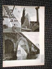 Rare vedute di Roma nel 1938 Campanile Giovanni e Paolo, Piramide Cestio, Milvio