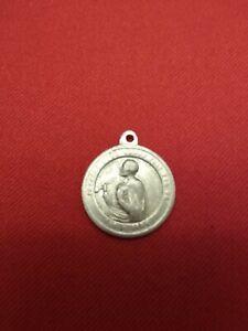 Vintage Saint John Eudes Holy Medal From Nun's Convent