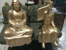 Gold  chinese and japanese gods made in japan