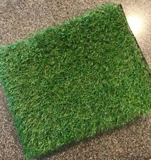 """RoundLove Artificial Grass Turf, 1""""4 Tone Synthetic Grass Patch Mat"""