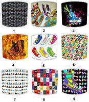 Lampshades Ideal To Match Funky Sneakers Duvets & Funky Sneakers Cushions.