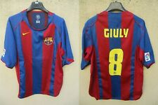 Maillot F.C BARCELONA BARCELONE 2005 NIKE shirt camiseta GIULY vintage LFP L