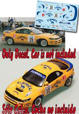 Decal 1:43 Flavio Alonso - TOYOTA CELICA - Rally El Corte Ingles 1993