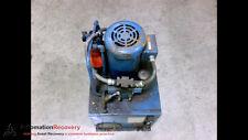 Vickers Tk10Vp-V30F-M-P1A/S8C Gf15-F1B2-079 Hydraulic Power Unit, See De #189258