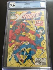 X-FORCE 11 CGC 9.6 WP 1ST APPEARANCE OF REAL DOMINO DEADPOOL
