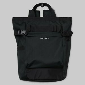 Carhartt, Payton Carrier Backpack, 23,4L, Black/White, I026874, Laptopfach, Neu