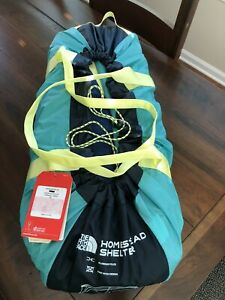 NORTH FACE Homestead Shelter, NEW WITH TAGS, $300 MSRP, Rare Color Combination!