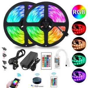 5M/10M Flexible Light 60LEDs/M SMD 5050 Led Light Strip RGB Tape +Remote Control