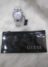 New Guess GC G43001M1 Mother-of-Pearl Ceramic Swiss Made Women's Watch $600