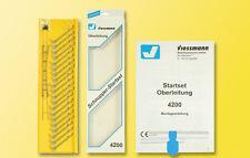 Viessmann 4200 Piste TT Startset Caténaire #neu dans neuf dans sa boîte #