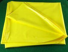 PVC LENZUOLA plastic sheet foglio di plastica giallo 148 x 230 NUOVO