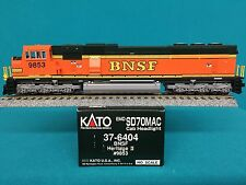 37-6404 Kato HO Scale SD70 MAC Burlington Northern Santa Fe BNSF NIB
