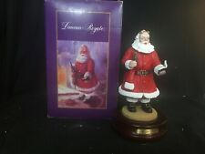 "Duncan Royale Soda Pop Santa Figurine Musical Numbered ""Here Comes Santa Claus"""