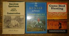 3 Vtg Hunting Books The Hunter in Pictures game bird hunting