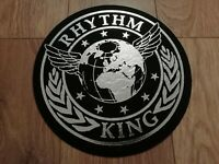 RHYTHM KING FELT TURNTABLE MAT ~ EXCELLENT CONDITION