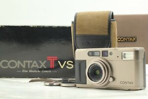 [NEAR MINT w/ Strap Case] Contax TVS Point & Shoot 35mm Film Camera From JAPAN
