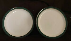Denby Greenwich Pair of 26cm Dinner Plates