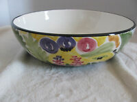 "Favanol Martinique Hand Painted in Portugal- 10"" Round Vegetable Serving Bowl(s)"