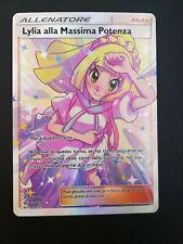 Pokemon MINT Lilia Alla Massima Potenza 230/236 ITA Eclissi Cosmica Full Art