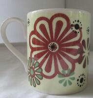 THE HENLEY COLLECTION ROY KIRKHAM FINE BONE CHINA FLOWER COFFEE MUG