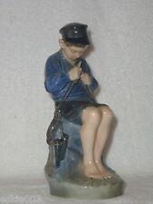 """Adorable Royal Copenhagen The """"Whittler"""" Boy Figurine #905 Ca. 1959."""
