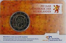 2 Euro commémorative des Pays-Bas 2013 Brillant Universel (BU) - Royaume