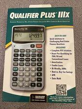 New ListingCalculated Industries Qualifier Plus Iiix 3415 Financial Calculator