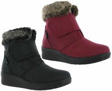 Wedge Comfort Solid Boots for Women