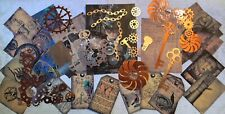Craft clearout mix, card toppers / paper die cuts, bundle joblot vintage, # Mcog