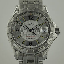 Omega Seamaster, Ladies, Omegamatic, Mens, Stainless Steel, Silver Dial