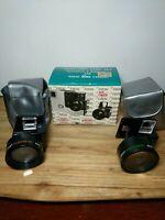 Focal Auxiliary Lens Set, Telephoto & Wide Angle Lens for Kodak Disc Cameras