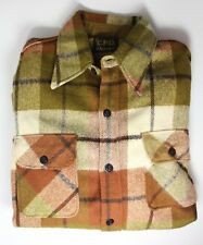 CPO by Arrow Men's 17 XL 17.5 Wool Military VINTAGE Button Down Shirt *HAS HOLES