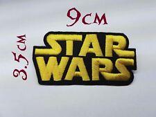 Quality Iron/Sew on Star wars Logo Patch funny biker symbol jedi sith the force